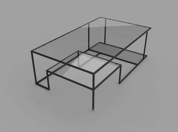 Right Angles Coffee Table 5 Right Angles is a Cool and Simple Coffee Table