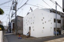 Tokyo's Room Room House is a Perfect Urban Home