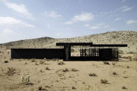 Interesting vacation retreat in the Californian desert: Rosa Muerta