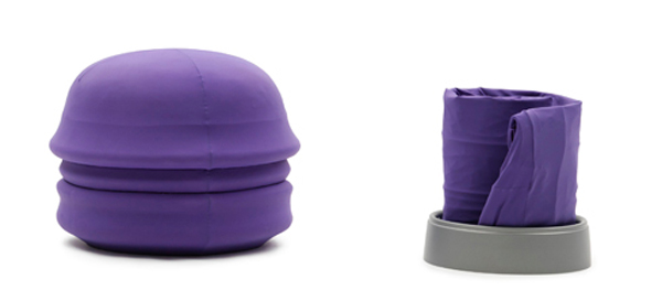 Santapouf for Camping 2 Versatile and comfortable poufs turn into inflatable beds