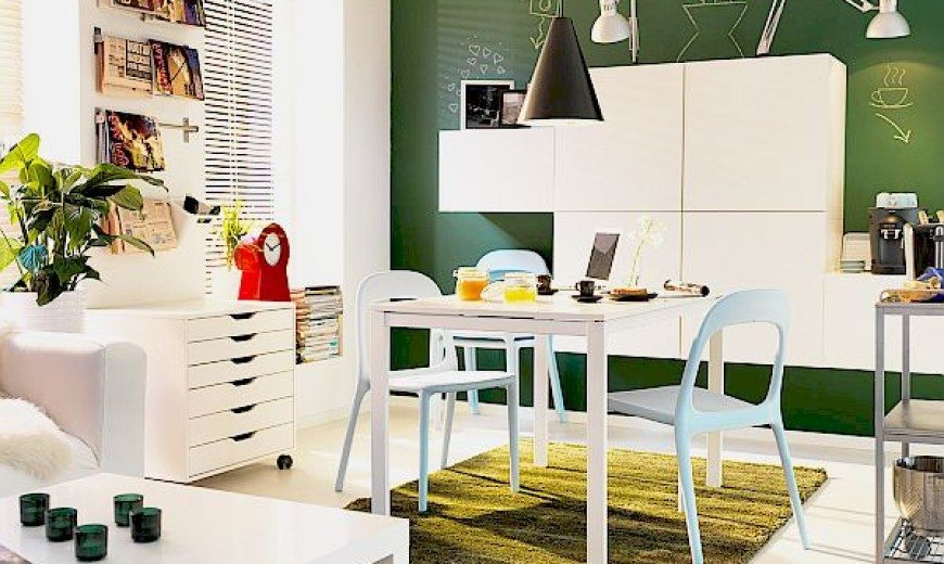 Small Space Dining Rooms: Decorating Ideas