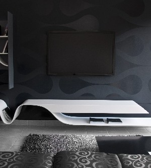 TV Unit With a Futuristic Design by Erhan Afsaroglu 2
