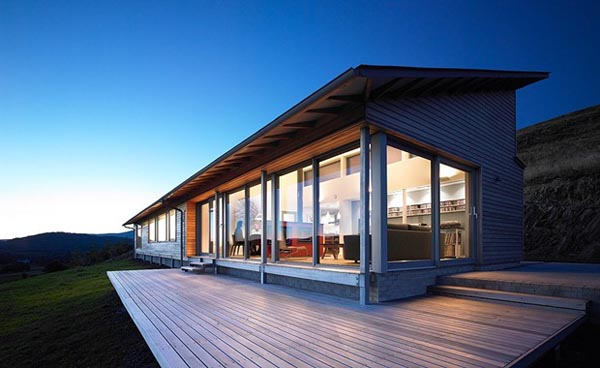 Grey cladded houl residence by simon winstanley architects - Maison rogers sturz michael lee architects ...