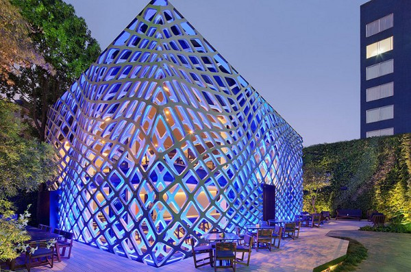 Tori Tori Restaurant by Rojkind Arquitectos and Esrawe Studio 110 Tori Tori Japanese Restaurant in Mexico City Beckons