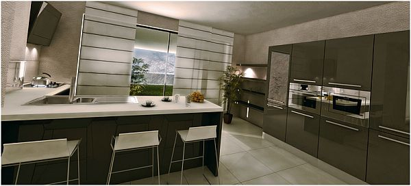 fashionable kitchen Keeping Your Kitchen Fashionable But Practical