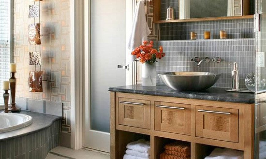 Gray And Cream Bathroom. 10 Stylish Colored Bathrooms Modern Sleek Combinations