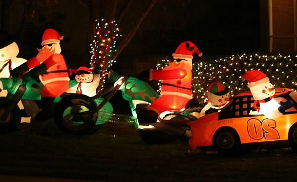 foodies can go for yummy inflatable - Inflatable Christmas Lawn Decorations