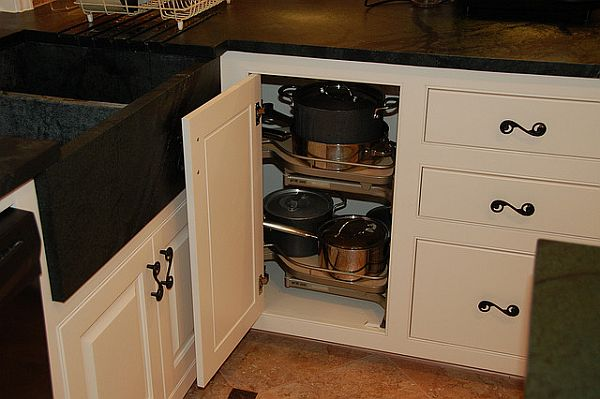 Brilliant Kitchen Storage Cabinets For Pots And Pans Ideas Organize Drawers Pullout Pantries Intended Decorating