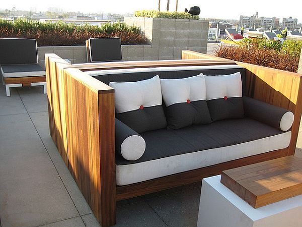 diy modern patio furniture solid teak wood outdoor furniture by marmol