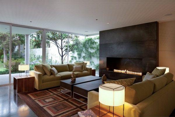 sleek fireplace 2