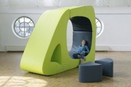 Melted CUBE Seating Unit is Extremely Flexible [Video]