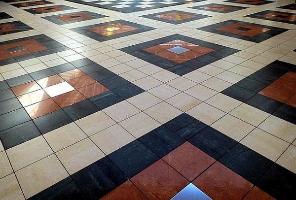 Floor Tile Design Ideas traditional kitchen slate tile floor design ideas pictures remodel and decor Tile Floor Design Ideas Ways To Protect Tile Flooring Seal Grout