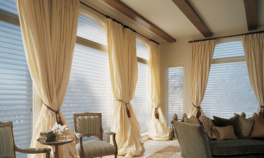 Window treatments ideas this nail head cornice board is for Simple window treatments for large windows