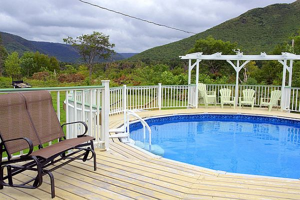 wooden pool deck How to Maintain & Take Care Of Your Wooden Deck
