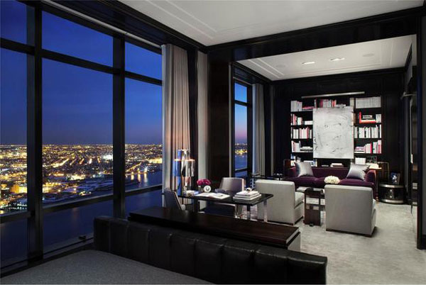 Apartment 77B 1 Penthouse atop Trump World Tower Sports Excellent Design