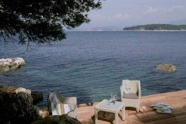 Astonishing Atolokis Villa on the northeast coast of Corfu