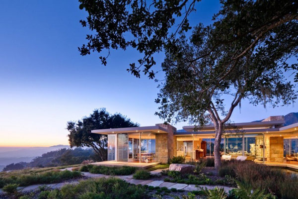 Carpinteria Foothills Residence 1 Carpinteria Foothills Residence in California Reveals Spectacular Landscape and Vision