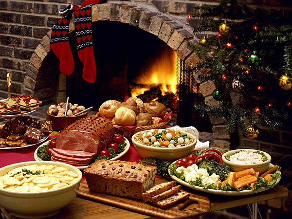 Christmas Food and Decoration Decorating for Christmas: Inspiration For Your Whole Home