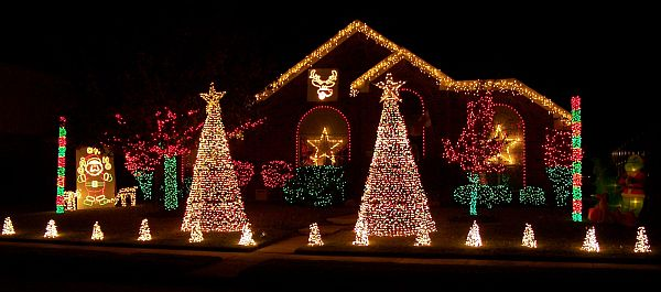 view in gallery festive pathway christmas tree lights holiday lawn light decoration outdoor - Outdoor Christmas Lights Decorations