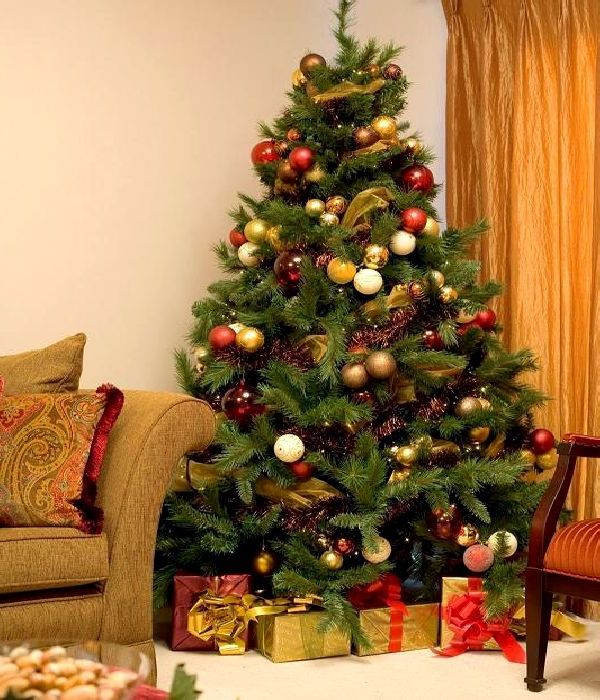 Christmas tree themes making xmas really worthy for 12 days of christmas decoration theme