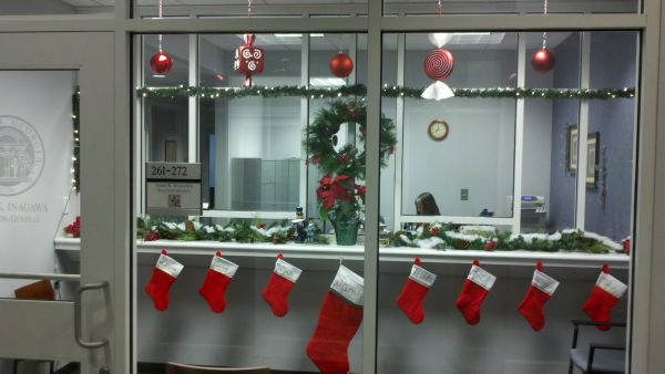 Decorations For Office. Christmas At The Office Decorations For