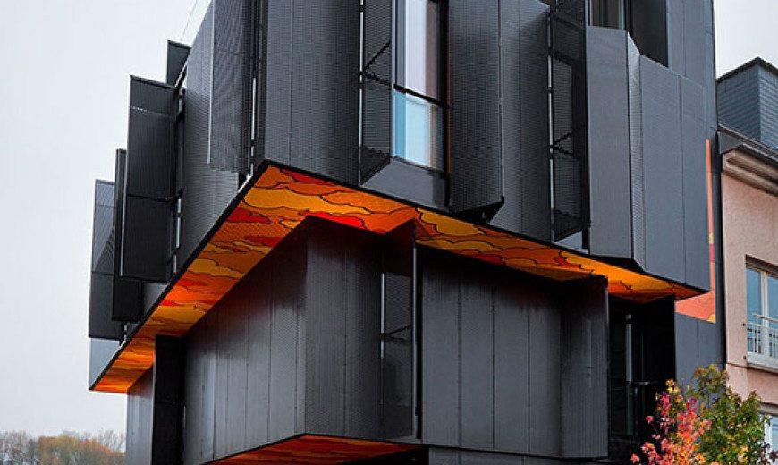 Post-Graffiti Art Defines this Contemporary Apartment