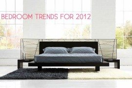 Bedroom Decorating Trends for 2012
