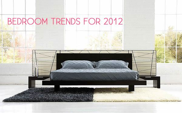 Contemporary Bedroom Suite Bedroom Decorating Trends for 2012
