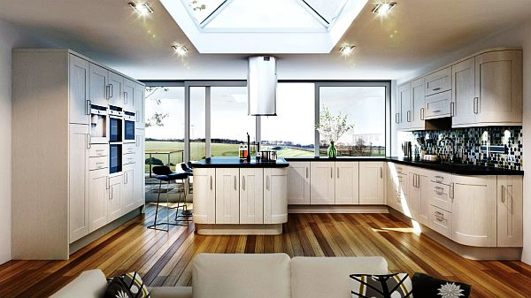Contemporary-Ivory-Kitchen