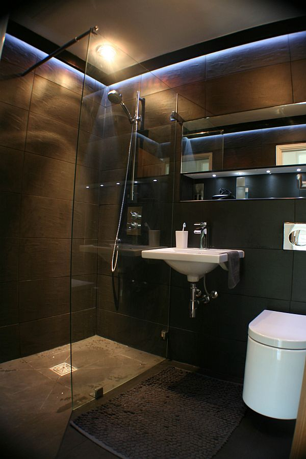 How to create a wet room for Slate wet room