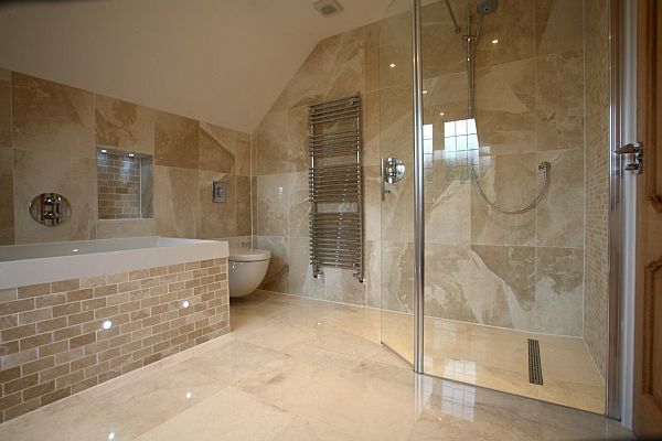Modern wet room decoist for What s a wet room