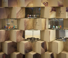 Cool Pop-up Store Made with Carton Boxes 7