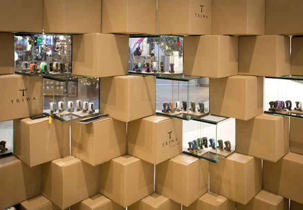 Cool Pop up Store Made with Carton Boxes 8 Cool Pop up Store Made with Carton Boxes