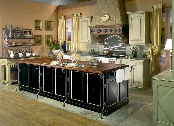 View In Gallery Country Style Kitchen Idea Traditionally Modern