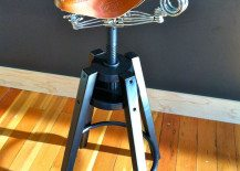 Dalfred Stool Sports a Creative Design