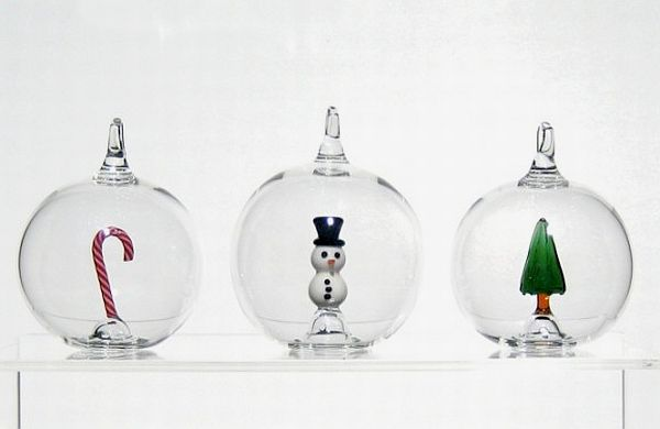 View in gallery Vintage hand-blown glass ornaments - Unique Hand Blown Christmas Ornaments