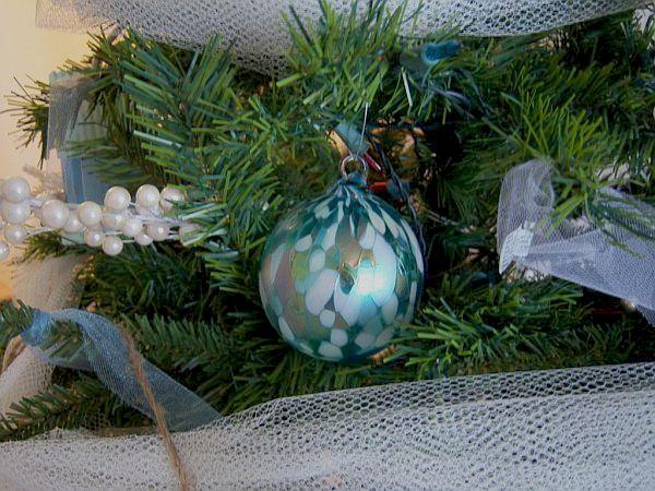 Hand blown unique Christmas ornaments 2