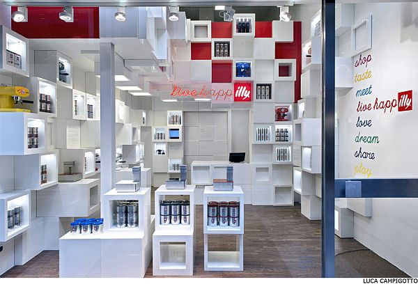 Illy Temporary Shop 2 Illy Temporary Shop in Milan by Caterina Tiazzoldi