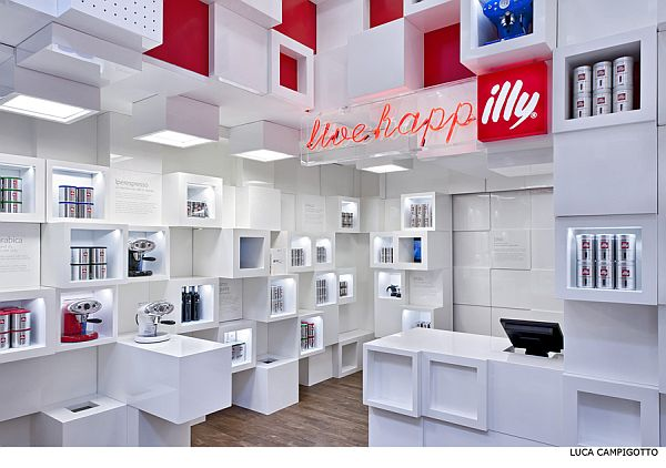Illy Temporary Shop Milan
