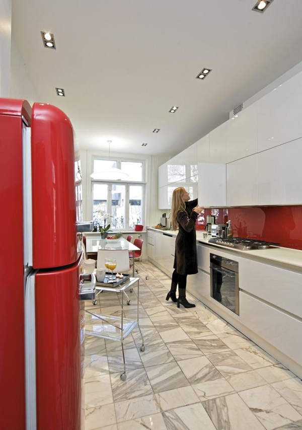 Italian Kitchen Design in Oslo