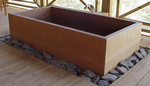 Japanese Ofuru Tub by RH Tubs