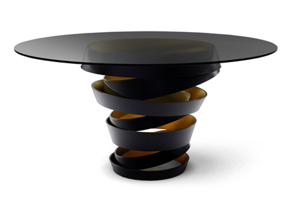 Koket Intuition Table 1 Flashy Furniture Collection by Koket is Unique and Lively