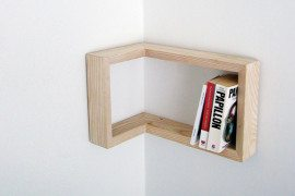 Kulma Corner Shelf is Practical and Stylish