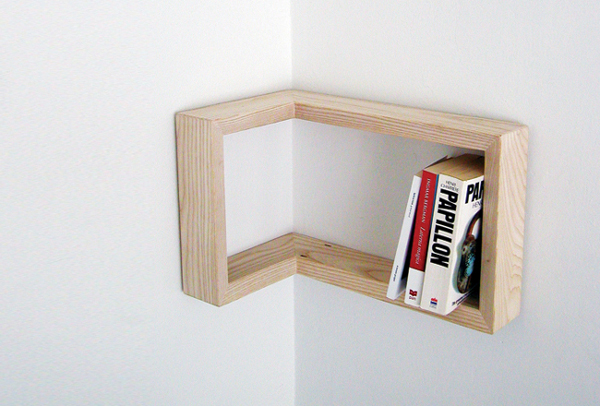 Kulma Corner Shelf 1 Kulma Corner Shelf is Practical and Stylish