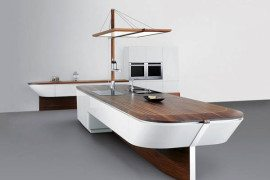 Yacht-inspired Marecucina kitchen concept from Alno