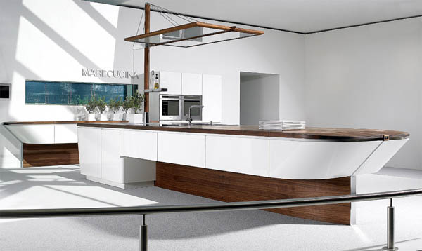 Marecucina concept Yacht inspired Marecucina kitchen concept from Alno