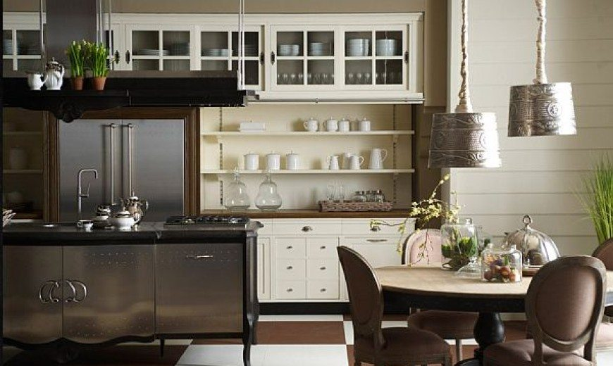 Country Style Kitchen - Traditionally Modern