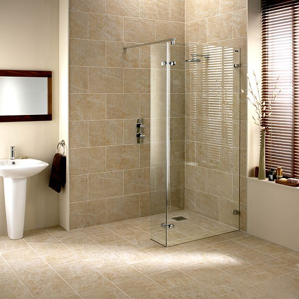 How to create a wet room for Wet floor bathroom designs