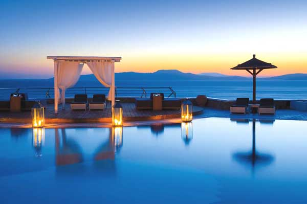 Best Island Beaches For Partying Mykonos St Barts: Exotic Mykonos Grand Hotel Welcomes You To Apollo's Birthplace