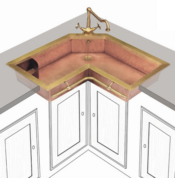 liked - Brass Kitchen Sink
